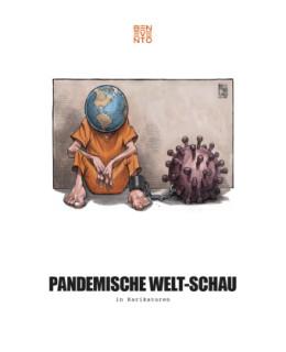 """Titelbild des Buches """"Pandemische Welt-Schau"""", Foto © buchkatalog.de"""
